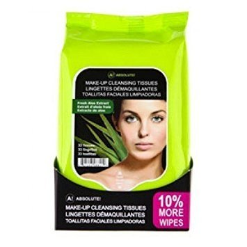 Absolute New York Fresh Aloe Extract Make Up Tissues – 60wipes-0