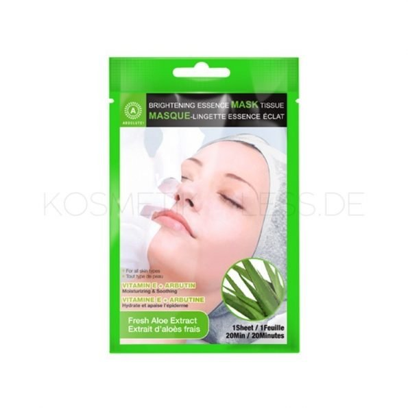 Absolute Brightening Essence Mask - Fresh Aloe Extract-0