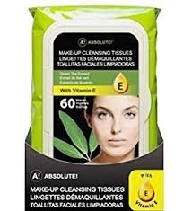 Absolute New York Green Tea Extract Make Up Tissues – 60wipes-0