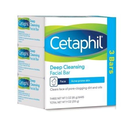 Cetaphil Deep Cleansing Bar - 3Bars-0