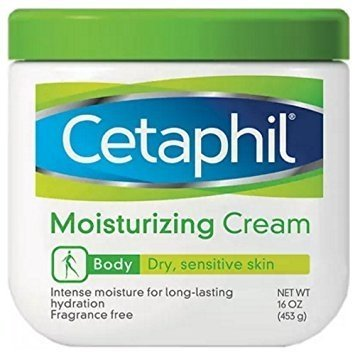 Cetaphil Moisturizing Cream for Dry/Sensitive Skin, Fragrance Free 16 oz-0