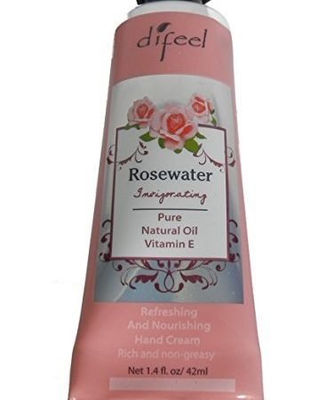 Difeel Hand Cream - Rosewater 42ml-0
