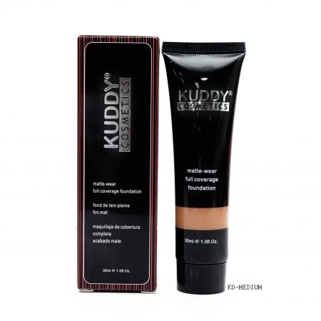 Kuddy Matte Wear Full Coverage Foundation KD-Medium 30ml-0