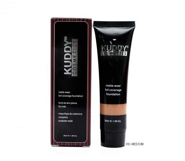 Kuddy Matte Wear Full Coverage Foundation KD-Medium 30ml-0