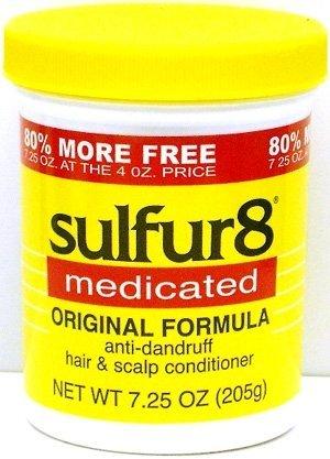 Sulphur 8 Medicated Hair & Scalp Conditioner 7.25oz