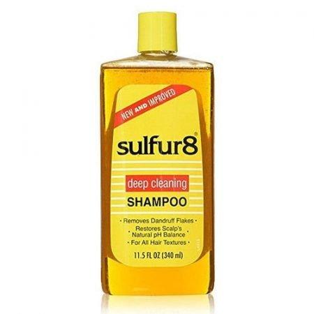 Sulfur 8 Deep Cleaning Shampoo For Dandruff- 340ml
