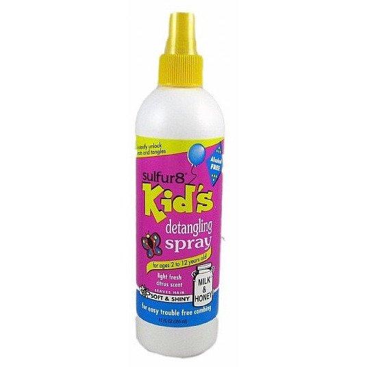 Sulphur 8 Kids Detangling Spray 12oz-0