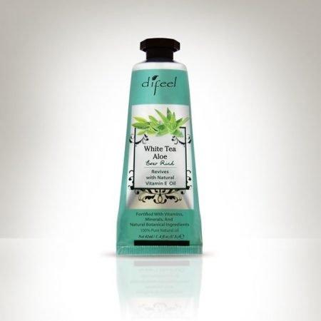 Difeel Hand Cream - White Tea & Aloe 42ml-0