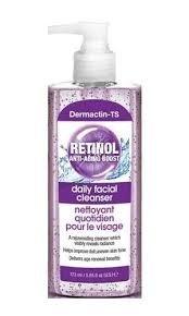 DERMACTIN - TS DAILY FACIAL CLEANSER - RETINOL 5.7oz-0