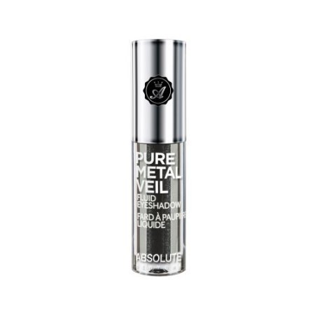 ABSOLUTE NEWYORK Pure Metal Veil Fluid Eyeshadow - Gunmetal-0