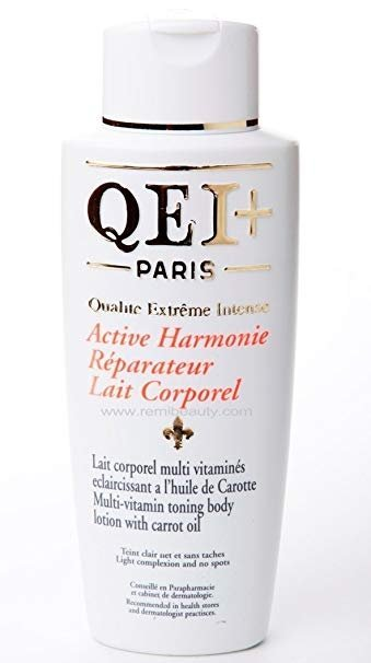 QEI+ ACTIVE HARMONIE TONING BODY LOTION ( CARROT EXTRACT)- 500ML-0