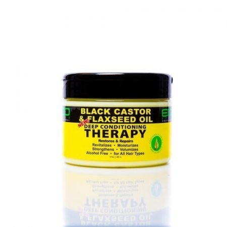 ECO STYLER BLACK CASTOR & FLAXSEED OIL DEEP CONDITIONING THERAPY- 355ml-0
