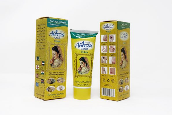ANEEZA GOLD UBTAN WITH SUNSCREEN -0