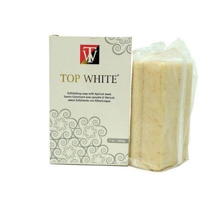 Top White Exfoliating Soap 200g