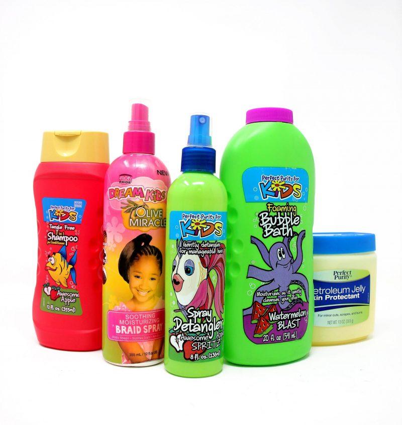Dream Kids Hair + Perfect purity Hair Care Bundle -0