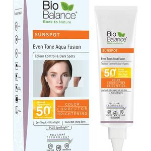 BIO BALANCE SUN SENSITIVE MINERAL FACE AQUA FUSION CREAM- 140ml