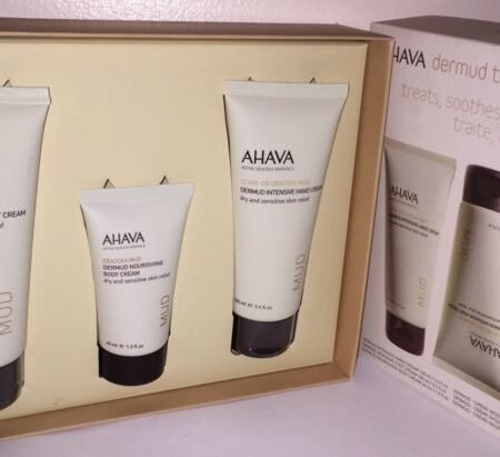 Ahava Dead Sea Mud Dermud Trio Gift Set