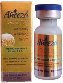 Aneeza Gold Beauty Emergency Whitening Serum-3ML –  Face Serum
