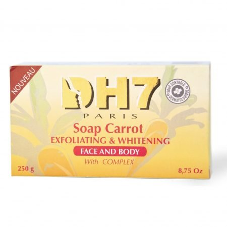 DH7 Lightening and Exfoliating Face & Body Soap with Carrot