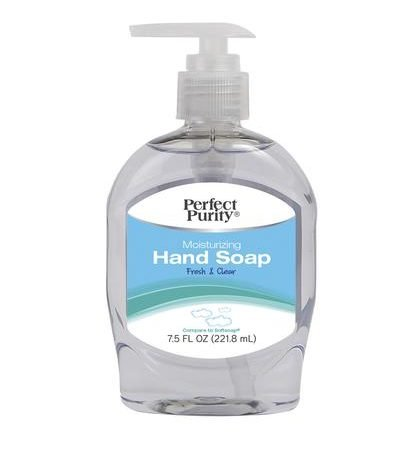 PERFECT PURITY® MOISTURIZING FRESH AND CLEAR HAND SOAP 7.5 fl oz