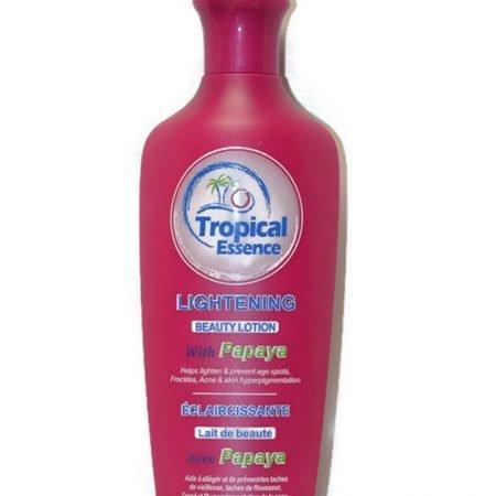 Tropical Essence Lightening Beauty Lotion With Papaya 500ml