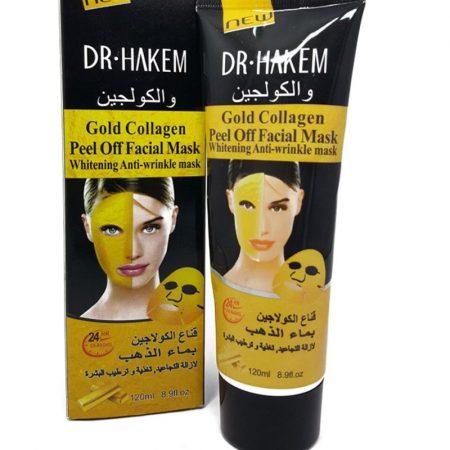 Dr Hakem Gold Collagen Whitening Anti Wrinkle Mask 120ml