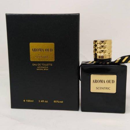 Aroma Oud Scentric Eau De Toilette Perfume (100 ml)