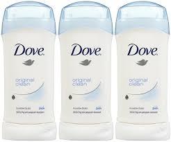 Dove Original Clean Invisible Solid Antiperspirant Deodorant 2.6oz