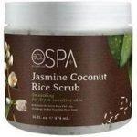 BCL Spa Sugar Scrub Jasmine+Coconut Smoothing Rice 16oz