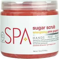 BCL Spa Sugar Scrub Pink Grapefruit 16oz