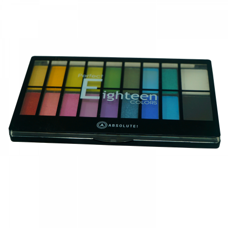 Absolute Perfect Eighteen Colors Eyeshadow Palette