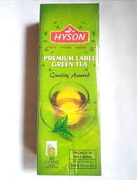 HYSON PREMIUM LABEL GREEN TEA