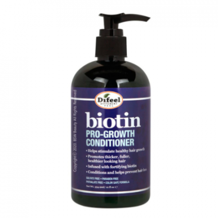 Difeel Pro-Growth Biotin Conditioner for Hair Growth 12.0 oz
