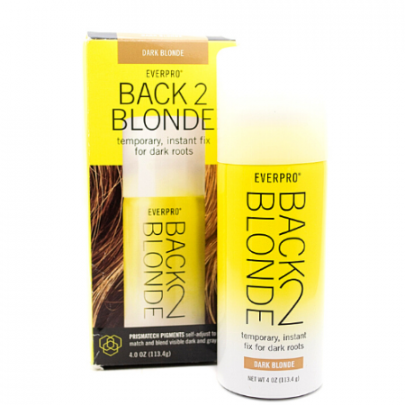 EverPro Beauty Back 2 Blonde Root Touch Up Magnetic Powder Dark Blonde