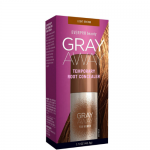 Everpro Beauty Gray Away Temporary Hair Color Root Concealer, Light Brown