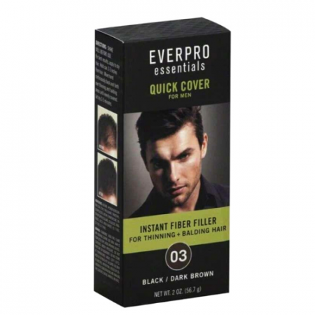 Everpro Essentials Quick Cover For Men Black/Dark Brown