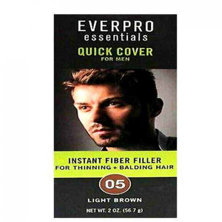 Everpro Quick Cover for Men Thinning Balding Hair Light Brown 05