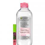 Garnier SkinActive Micellar Cleansing Water All-in-1 with Great Lash- (Sensitive Skin) -13.5oz