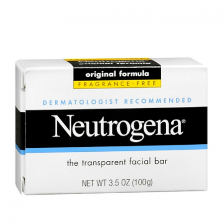 Neutrogena Fragrance Free Transparent Facial Bar