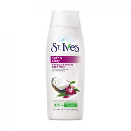 St ives body wash soft & Silky 13.5oz