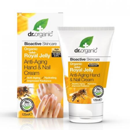 Dr Organic Anti-Aging Hand & Nail Cream – 125ml