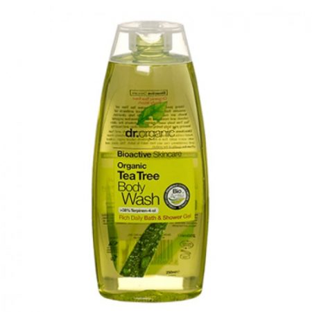 Dr Organics Tea Tree Body Wash – 250ml